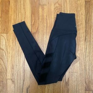 Beyond Yoga Black Leggings with Mesh Detailing